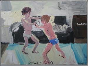 Arthur_Ralf_wrestling